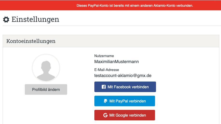 Paypal Konto Wird Nicht Angezeigt